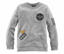 Sweatshirt grau / graumeliert