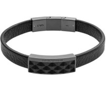 Armband 'egs2407060' grau / schwarz