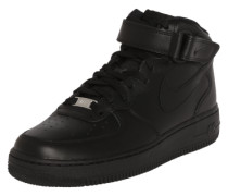 Sneaker 'Air Force Mid' schwarz
