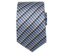 Krawatte ' Brown Label ' blau / hellblau / grau / dunkelgrau / violettblau / schwarz / weiß