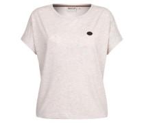 T-Shirt 'Schnella Baustella Iii' braun