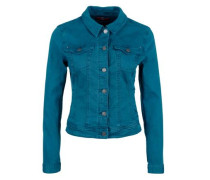 Stretchige Colored Denim-Jacke blue denim