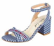 Sandalette mit Stickerei