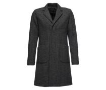Mantel 'Le Bon' graumeliert