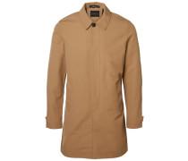 Klassischer Mantel braun