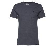 T-Shirt 'fine stripe t-shirt' dunkelblau