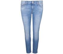 Jeans 'roxanne Crop' blau