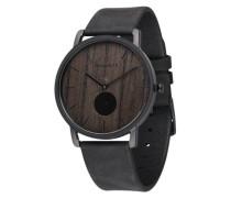Armbanduhr 'Fritz' braun / schwarz