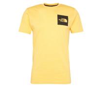 T-Shirt 'M S/S Fine Tee' gelb
