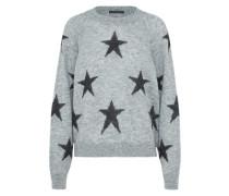 Pullover 'damia' grau / schwarz