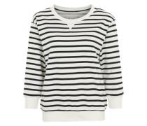 Sweatshirt 'LW Jacks Base Crew' schwarz / weiß