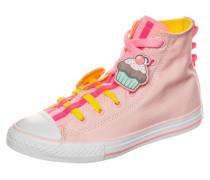 'Chuck Taylor All Star Loopholes High' Sneaker Kinder rosa