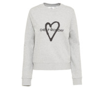 Sweatshirt 'Love' grau