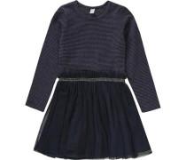 Kinder Jerseykleid blau