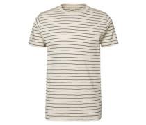T-Shirt 'Blake' sand / navy