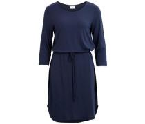 Kleid 3/4-Ärmel blau