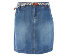 Rock aus Sommer-Denim blue denim