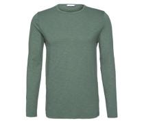 Langarmshirt 'Lassen' grün