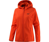Softshelljacke 'Northern Point' orangerot