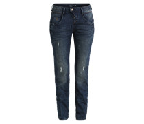Relaxed Tapered Jeans blau