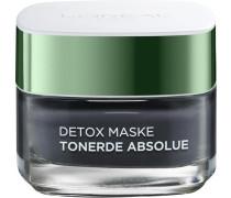 'Tonerde Absolue Detox Maske (black)' Gesichtsmaske schwarz