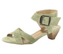 Sandalette grün