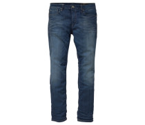 Slim-fit-Jeans 'Tim' dunkelblau