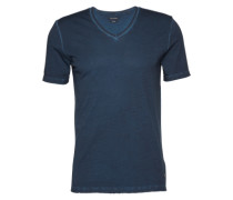 T-Shirt im Shaped Fit dunkelblau