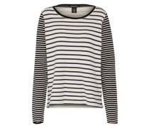 Sweatshirt creme / schwarz