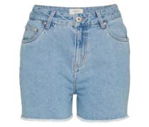 Denim Shorts 'adpt Festival' blau