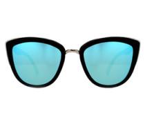 Sonnenbrille 'MY Girl' blau / schwarz