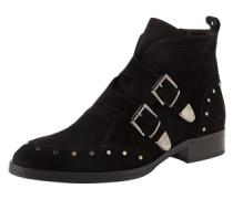 Ankle Boots 'Amalfi' schwarz