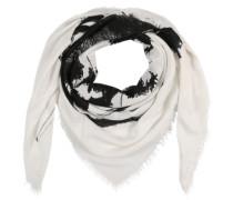 Schal 'swillot-C' schwarz / weiß