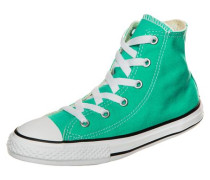'Chuck Taylor All Star Fresh Colors High' Sneaker Kinder smaragd
