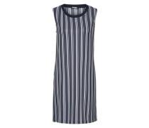 Kleid 'sanaa' blau / weiß