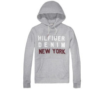 Sweatshirt 'thdm Basic HD Hknit L/S 1' grau