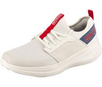 Sneaker weiß / rot / blau