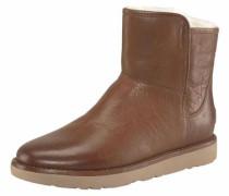 Stiefelette A'bree Mini Leather' braun