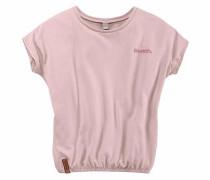 T-Shirt mit Fledermausärmeln rosa