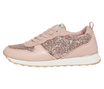 Sneaker pastellpink / silber