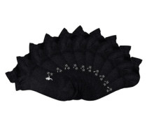 Sneakersocken (10 Paar) schwarz