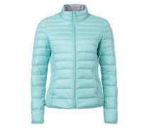 Light Down-Steppjacke blau