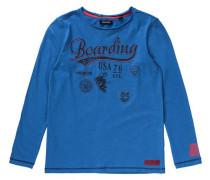 Langarmshirt für Jungen blau / dunkelblau / rot
