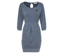Casual Kleid 'The End II' rauchblau