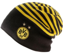 Borussia Dortmund Beanie dunkelgelb / schwarz