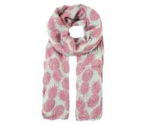 Schal 'Laka' mint / rosa