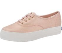'Triple Metallic Canvas' Sneakers rosa
