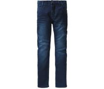 Jeans Nitbandy Baggy Fit für Jungen Bundweite Slim blau