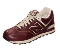 Ml574-Lua-D Sneaker Herren beige / weinrot