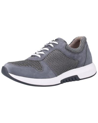 Sneaker silbergrau / dunkelgrau